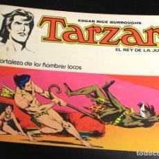 Tebeos: TARZAN. EDGAR RICE BURROUGHS. Nº 5. LA FORTALEZA DE LOS HOMBRES LOCOS. NOVARO, 1976. Lote 162015757