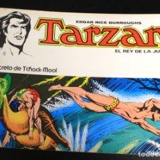 Tebeos: TARZAN. EDGAR RICE BURROUGHS. Nº 6. EL SECRETO DE T'CHACK-MOOL. NOVARO, 1976. Lote 162015858