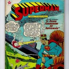 Tebeos: SUPERMAN - AÑO VIII - NÚMERO EXTRAORDINARIO, 1º NOV. DE 1959 *NOVARO MÉXICO - EDICIONES RECREATIVAS*. Lote 162298614