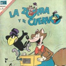 Tebeos: LA ZORRA Y EL CUERVO Nº 197 EN EDICIONES NOVARO 1967. Lote 162365862