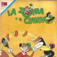 Tebeos: LA ZORRA Y EL CUERVO Nº 233 EN EDICIONES NOVARO 1970. Lote 162365958