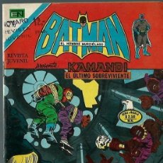 Tebeos: BATMAN - SERIE AGUILA - Nº 808 - KAMANDI EL ULTIMO SOBREVIVIENTE - NOVARO 1975 - BIEN CONSERVADO. Lote 162382370