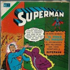 Tebeos: SUPERMAN - SERIE AVESTRUZ Nº 3-37 - EL PODER DEL PARASITO - NOVARO 1978 - UNICO EN TC. Lote 162384382
