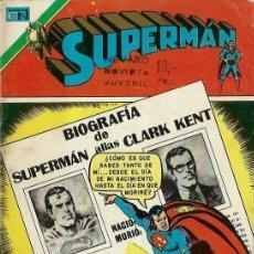 Tebeos: SUPERMAN SERIE AGUILA Nº 1013 - AVENTURA EN LA CIUDAD DE LAS GEMAS - NOVARO 1975 - MUY BUEN ESTADO. Lote 162385250