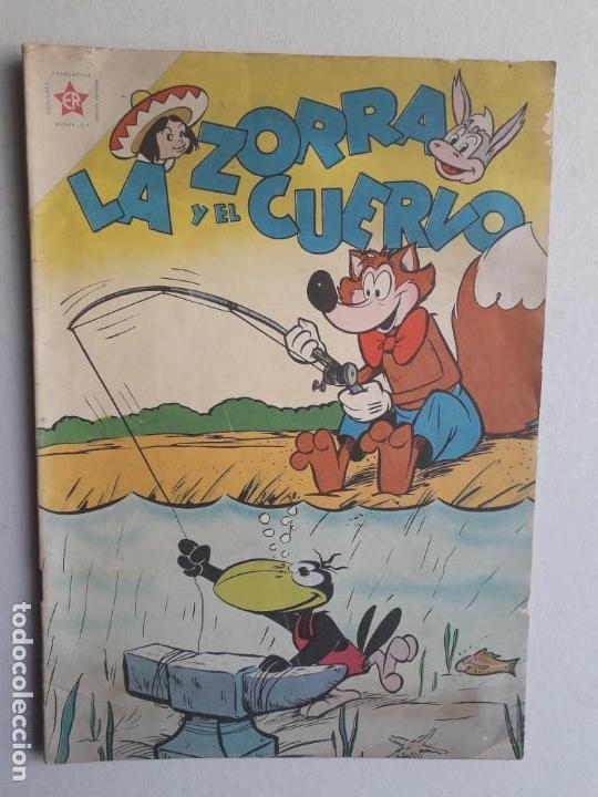 LA ZORRA Y EL CUERVO N° 98 - ORIGINAL EDITORIAL NOVARO (Tebeos y Comics - Novaro - Otros)
