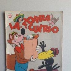 Tebeos: LA ZORRA Y EL CUERVO N° 112 - ORIGINAL EDITORIAL NOVARO. Lote 162453054