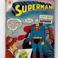 Tebeos: SUPERMAN - AÑO VIII - NÚMERO EXTRAORDINARIO, 1º SEP. DE 1959 *NOVARO MÉXICO - EDICIONES RECREATIVAS*. Lote 162461362