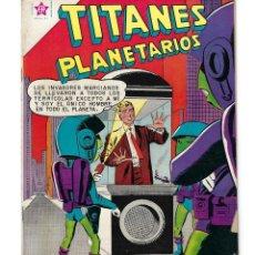Tebeos: TITANES PLANETARIOS - AÑO VII - Nº 97, 1º DE OCT. DE 1960 *NOVARO MÉXICO - EDICIONES RECREATIVAS*. Lote 162611842