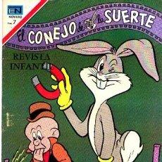 Tebeos: NOVARO (EL CONEJO DE LA SUERTE Nº 327). Lote 162616234