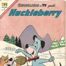 Tebeos: CHIQUILLADAS TV HUCKLEBERRY Nº 214 EN NOVARO 1967 REVISTA ORIGINAL EDITADA EN MEXICO. Lote 162649782