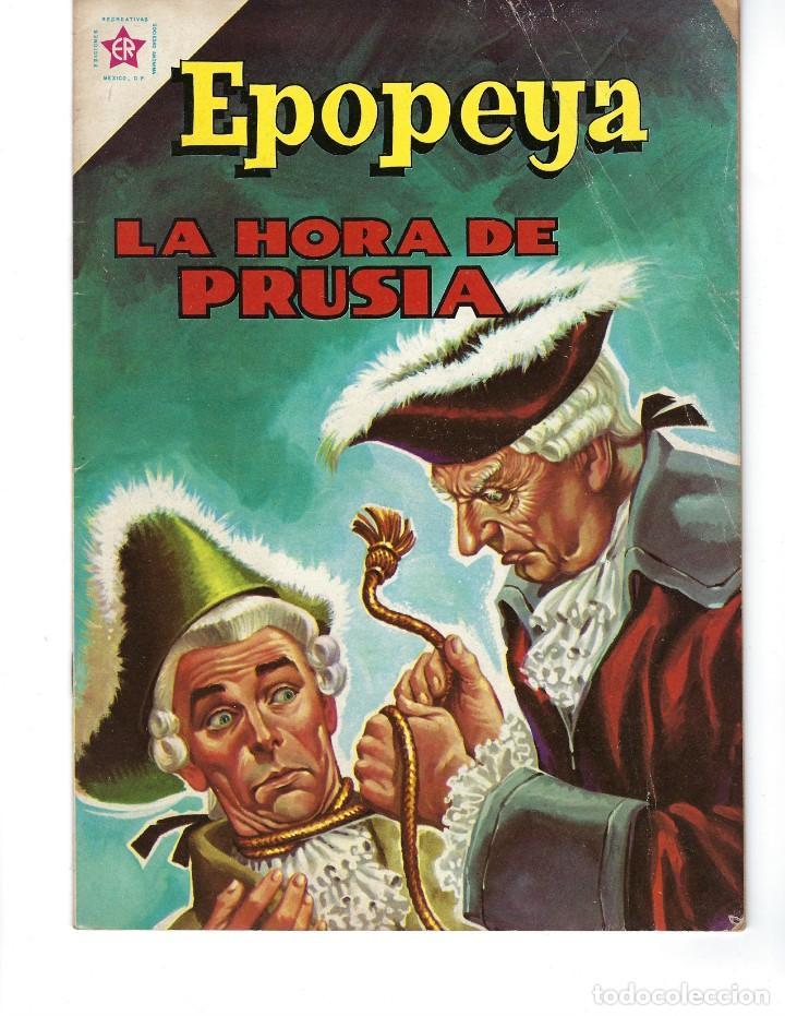 EPOPEYA - AÑO IV - Nº 48, 1º DE MAYO DE 1962 *NOVARO MÉXICO - EDICIONES RECREATIVAS* (Tebeos y Comics - Novaro - Epopeya)