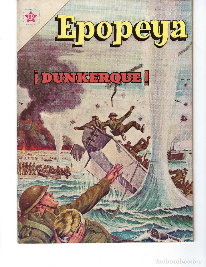 EPOPEYA - AÑO IV - Nº 44, 1º DE ENERO DE 1962 *NOVARO MÉXICO - EDICIONES RECREATIVAS* (Tebeos y Comics - Novaro - Epopeya)