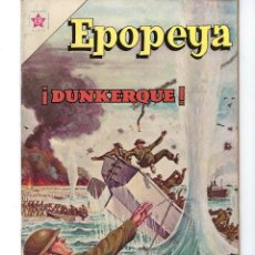 Tebeos: EPOPEYA - AÑO IV - Nº 44, 1º DE ENERO DE 1962 *NOVARO MÉXICO - EDICIONES RECREATIVAS*. Lote 162906434