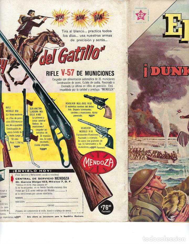 Tebeos: EPOPEYA - AÑO IV - Nº 44, 1º DE ENERO DE 1962 *NOVARO MÉXICO - EDICIONES RECREATIVAS* - Foto 3 - 162906434