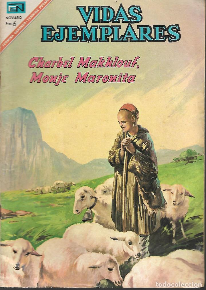 VIDAS EJEMPLARES Nº 249 CHARBELMAKHLOUF MONJE MARONITA EDITORIAL NOVARO 1967 (Tebeos y Comics - Novaro - Vidas ejemplares)