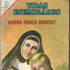 Tebeos: VIDAS EJEMPLARES Nº 235 MADREPAULA MONTALT EDITORIAL NOVARO 1966. Lote 163104098