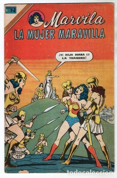 MARVILA # 3-225 NOVARO 1980 WONDER WOMAN CHARLES MOULTON CURT SWAN VINCE COLLETTA MUY BUEN ESTADO (Tebeos y Comics - Novaro - Sci-Fi)