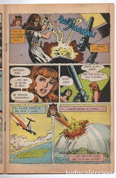 Tebeos: MARVILA # 3-225 NOVARO 1980 WONDER WOMAN CHARLES MOULTON CURT SWAN VINCE COLLETTA MUY BUEN ESTADO - Foto 5 - 163429178
