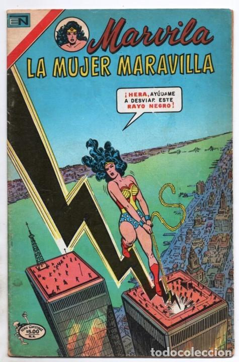 MARVILA # 3-226 NOVARO 1980 WONDER WOMAN CHARLES MOULTON MAGGIN VINCE COLLETTA MUY BUEN ESTADO (Tebeos y Comics - Novaro - Sci-Fi)