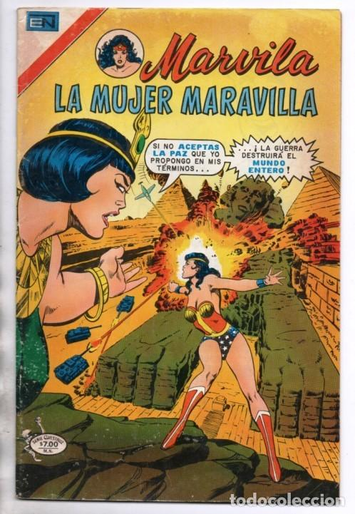 MARVILA # 3-233 NOVARO 1980 WONDER WOMAN MOULTON GERRY CONWAY JOSE DELBO & JOE GIELLA IMPECABLE ESTA (Tebeos y Comics - Novaro - Sci-Fi)