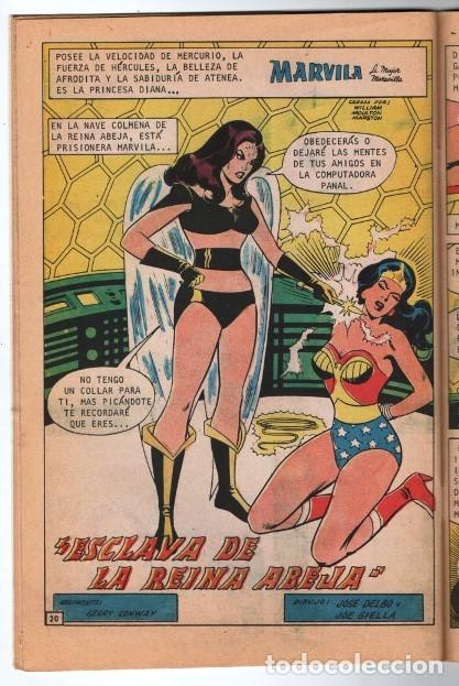 Tebeos: MARVILA # 3-233 NOVARO 1980 WONDER WOMAN MOULTON GERRY CONWAY JOSE DELBO & JOE GIELLA IMPECABLE ESTA - Foto 5 - 163631618