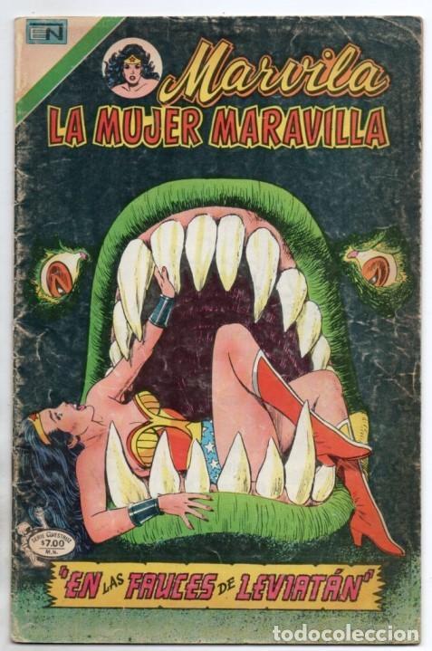 MARVILA # 3-234 NOVARO 1980 WONDER WOMAN MOULTON CONWAY DENNY O´NEIL VINCE COLLETTA LEVIATAN NAZIS (Tebeos y Comics - Novaro - Sci-Fi)