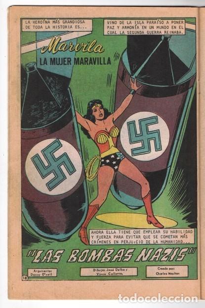 Tebeos: MARVILA # 3-234 NOVARO 1980 WONDER WOMAN MOULTON CONWAY DENNY O´NEIL VINCE COLLETTA LEVIATAN NAZIS - Foto 4 - 163631722
