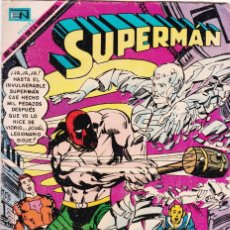Tebeos: SUPERMAN NOVARO NÚMERO 726 AÑO 1969. LA LEGIÓN DE SUPERHÉROES.. Lote 163777174