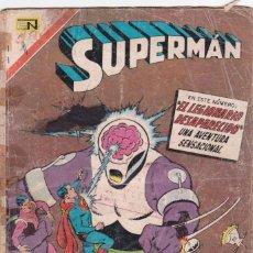 Tebeos: SUPERMAN NOVARO NÚMERO 634. AÑO 1967. LEGIÓN DE SUPER HÉROES NÚMERO EMBLEMÁTICO. LA MUERTE DE FERRO.. Lote 163785218