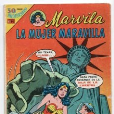 Tebeos: MARVILA # 3-240 NOVARO 1980 WONDER WOMAN & FLASH MOULTON CONWAY COLLETTA HIEDRA VENENOSA DIOS MARTE. Lote 163968442