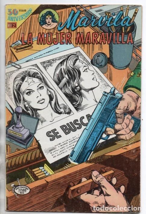 MARVILA # 3-241 NOVARO 1980 WONDER WOMAN & FLASH MOULTON CONWAY COLLETTA HIEDRA VENENOSA DIOS MARTE (Tebeos y Comics - Novaro - Sci-Fi)