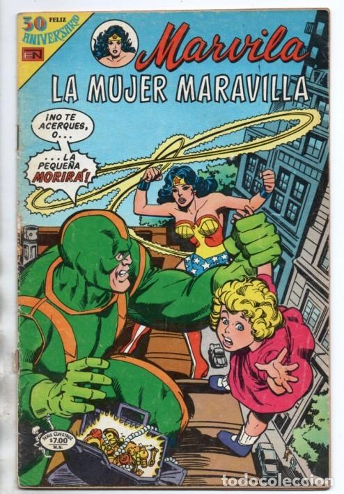 MARVILA # 3-242 NOVARO 1980 WONDER WOMAN & SUPERMAN MOULTON CONWAY GIORDANO STATON EL ESPECTRO (Tebeos y Comics - Novaro - Sci-Fi)