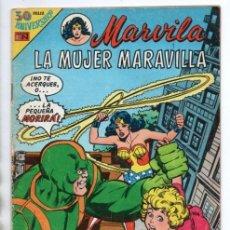 Tebeos: MARVILA # 3-242 NOVARO 1980 WONDER WOMAN & SUPERMAN MOULTON CONWAY GIORDANO STATON EL ESPECTRO . Lote 163987630
