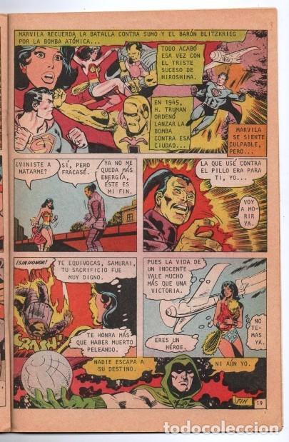 Tebeos: MARVILA # 3-242 NOVARO 1980 WONDER WOMAN & SUPERMAN MOULTON CONWAY GIORDANO STATON EL ESPECTRO - Foto 3 - 163987630