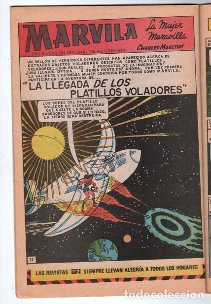 Tebeos: MARVILA # 3-242 NOVARO 1980 WONDER WOMAN & SUPERMAN MOULTON CONWAY GIORDANO STATON EL ESPECTRO - Foto 4 - 163987630