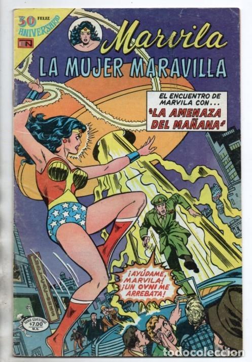 MARVILA # 3-243 NOVARO 1980 WONDER WOMAN MOULTON GIELLA DELBO HARRIS EL ESPECTRO (Tebeos y Comics - Novaro - Sci-Fi)