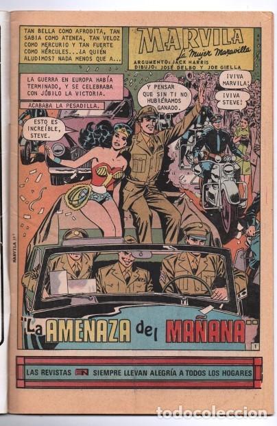 Tebeos: MARVILA # 3-243 NOVARO 1980 WONDER WOMAN MOULTON GIELLA DELBO HARRIS EL ESPECTRO - Foto 2 - 163991366