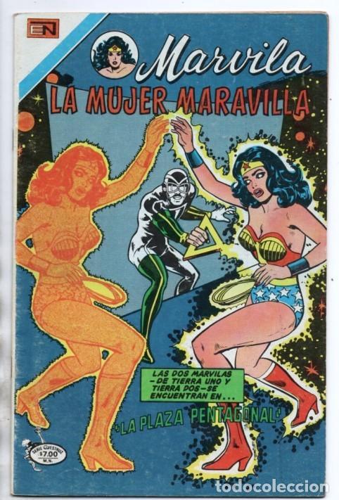 MARVILA # 3-244 NOVARO 1980 WONDER WOMAN MOULTON GIELLA DELBO HARRIS TIERRA I & TIERRA II (Tebeos y Comics - Novaro - Sci-Fi)