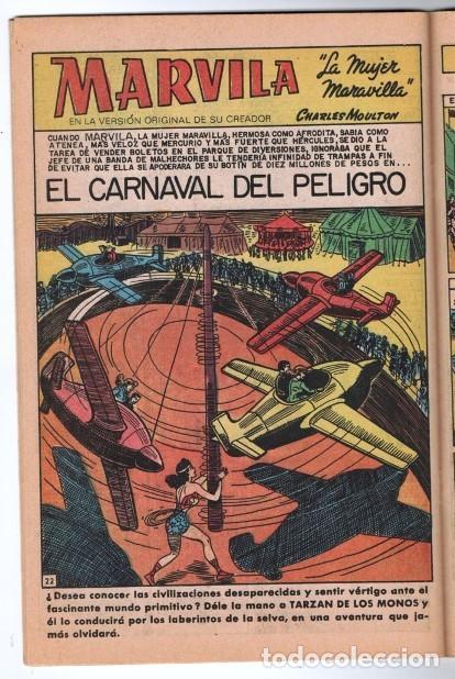 Tebeos: MARVILA # 3-244 NOVARO 1980 WONDER WOMAN MOULTON GIELLA DELBO HARRIS TIERRA I & TIERRA II - Foto 5 - 164002542