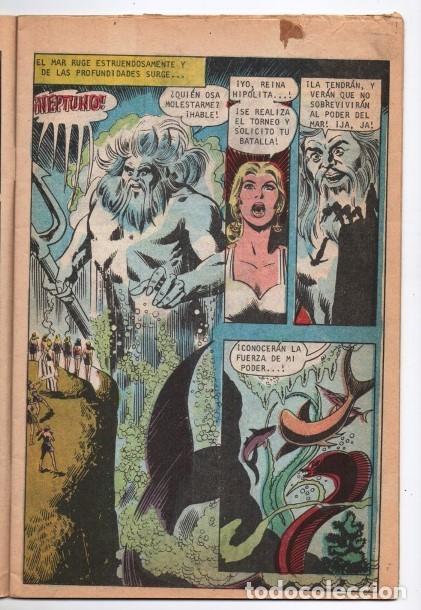 Tebeos: MARVILA # 3-251 NOVARO 1981 WONDER WOMAN MOULTON GIELLA DELBO HARRIS DIANA VS ORANA NUEVA MARVILA BU - Foto 3 - 164356158