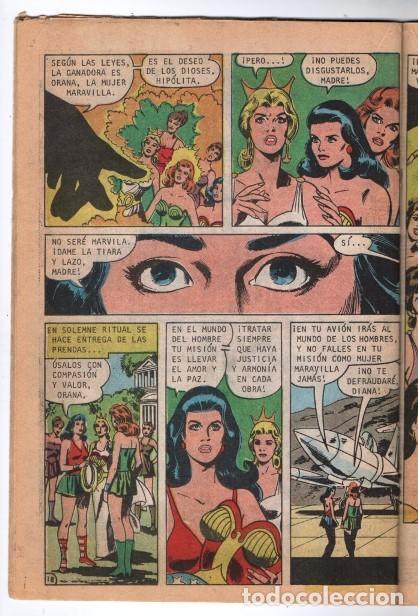 Tebeos: MARVILA # 3-251 NOVARO 1981 WONDER WOMAN MOULTON GIELLA DELBO HARRIS DIANA VS ORANA NUEVA MARVILA BU - Foto 6 - 164356158