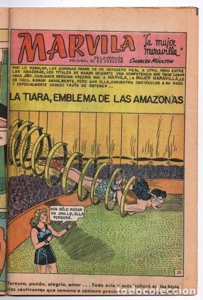 Tebeos: MARVILA # 3-251 NOVARO 1981 WONDER WOMAN MOULTON GIELLA DELBO HARRIS DIANA VS ORANA NUEVA MARVILA BU - Foto 7 - 164356158