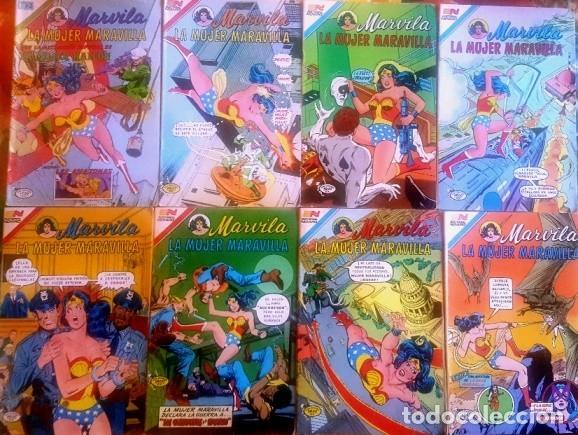 Tebeos: MARVILA # 3-251 NOVARO 1981 WONDER WOMAN MOULTON GIELLA DELBO HARRIS DIANA VS ORANA NUEVA MARVILA BU - Foto 10 - 164356158