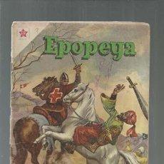 Tebeos: EPOPEYA 7: LA DERROTA DEL ISLAM, 1958, NOVARO, USADO. COLECCIÓN A.T.. Lote 164474662