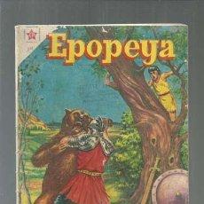 Tebeos: EPOPEYA 14: LAS ZARPAS DEL OSO, 1959, NOVARO. COLECCIÓN A.T.. Lote 164480458