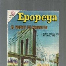 Tebeos: EPOPEYA 97: EL PUENTE DE BROOKLYN, 1966, NOVARO, ENCUADERNACIÓN. COLECCIÓN A.T.. Lote 164485778
