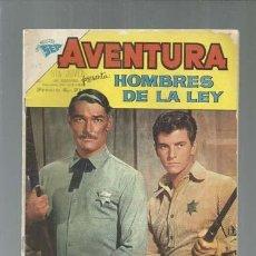 Tebeos: AVENTURA 213: HOMBRES DE LA LEY, 1962, NOVARO, USADO. Lote 164515266