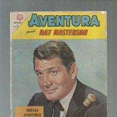 Tebeos: AVENTURA 348: BAT MASTERSON, 1964, NOVARO. Lote 164515814