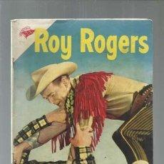 Tebeos: ROY ROGERS 34, 1955, NOVARO, BUEN ESTADO. Lote 164523302