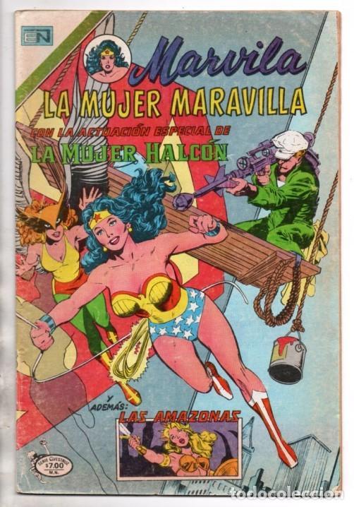 MARVILA # 3-250 NOVARO 1981 WONDER WOMAN MOULTON MUJER HALCON JACK HARRIS DELBO GIELLA MUY BUEN ESTA (Tebeos y Comics - Novaro - Sci-Fi)